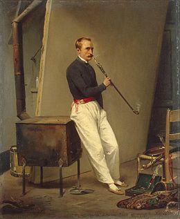 chibouque Horace Vernet