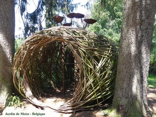 cabane Jardin de Meise Belgique