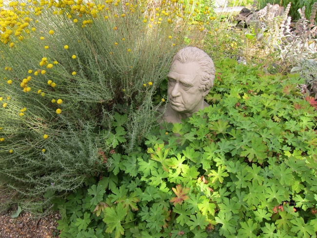 Joseph Banks au Chelsea Physic Garden à Londres