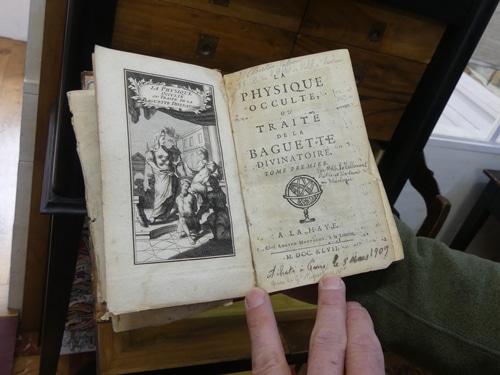 Traité de la baguette divinatoire