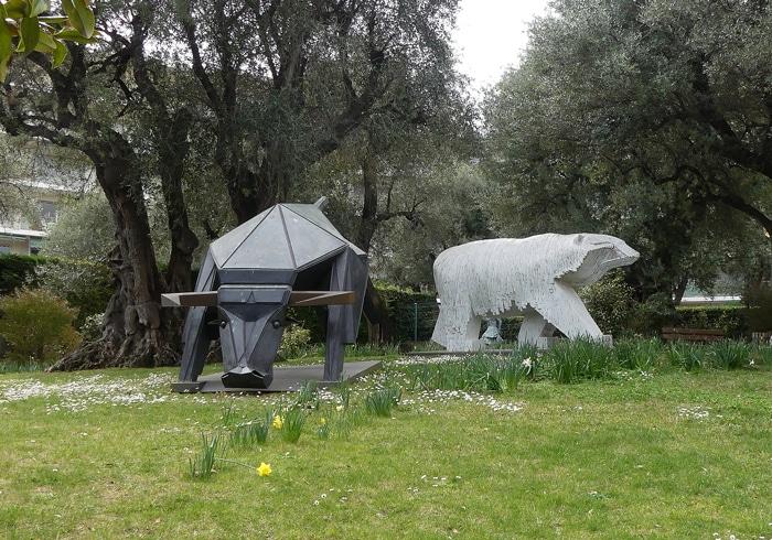 Sculptures du Parc de Cap Martin